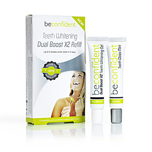 Teeth whitening TEETH WHITENING dual boost refill Beconfident