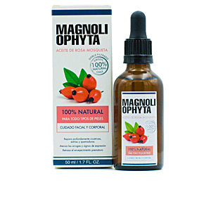 - Tratamiento Facial Hidratante - Cremas Antiarrugas y Antiedad - Hidratante corporal ACEITE DE ROSA MOSQUETA natural Magnoliophytha