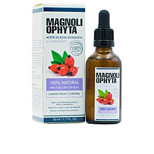 Cremas Antiarrugas y Antiedad - Tratamiento Facial Hidratante ACEITE DE ROSA MOSQUETA con colágeno Magnoliophytha
