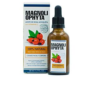 - Tratamiento Facial Hidratante - Cremas Antiarrugas y Antiedad - Hidratante corporal ACEITE DE ROSA MOSQUETA con Vitamina C Magnoliophytha