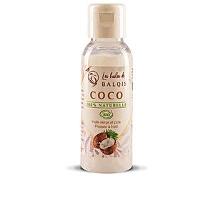 Hair moisturizer treatment - Body moisturiser COCO aceite virgen 100 % orgánico Les Huiles De Balquis