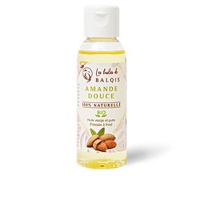 Body moisturiser - Hair moisturizer treatment AMANDE DOUCE aceite virgen 100 % orgánico Les Huiles De Balquis