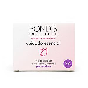 Cremas Antiarrugas y Antiedad - Tratamiento Facial Reafirmante - Cremas Antimanchas CUIDADO ESENCIAL triple acción ´3A´ crema Pond's
