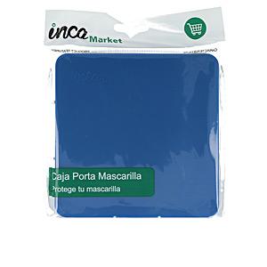 Protective mask MARKET porta mascarilla FFP2 quirúrgica/higiénica #azul mari Inca