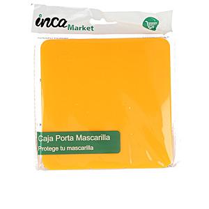 Mascarilla protectora MARKET porta mascarilla FFP2 quirúrgica/higiénica #camel Inca