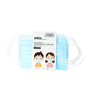Protective mask FARMA mascarilla quirúrgica IIR infantil made in Spain #azul Inca