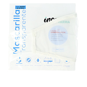 Protective mask - Hygiene for kids FARMA mascarilla higiénica reutilizable junior #blanca Inca