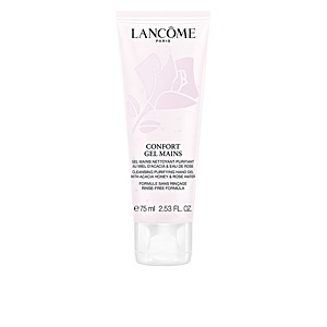 Disinfectant Sanitizing Gel CONFORT gel mains Lancôme