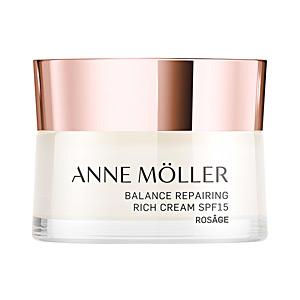Anti aging cream & anti wrinkle treatment ROSÂGE balance rich repairing cream SPF15 Anne Möller