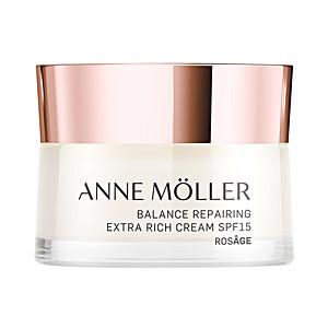 Skin tightening & firming cream  ROSÂGE balance extra-rich repairing cream SPF15 Anne Möller