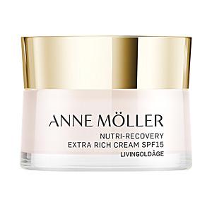 Anti aging cream & anti wrinkle treatment - Skin tightening & firming cream  LIVINGOLDÂGE nutri-recovery ex-rich cream SPF15 Anne Möller