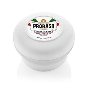 Shaving foam WHITE jabón de afeitar Proraso