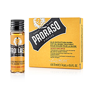 Bartpflege YELLOW tratamiento de aceite caliente para barba Proraso