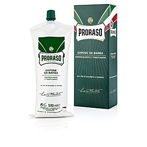 Bartpflege PROFESIONAL crema de afeitado eucalipto-mentol Proraso