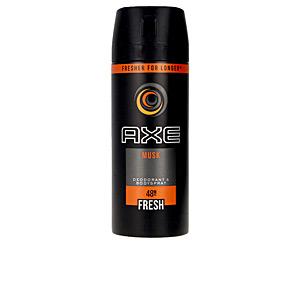 Déodorant MUSK AXE déodorant vaporisateur Axe