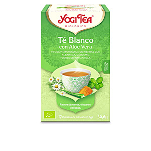 Drinki TÉ BLANCO con aloe vera Yogi Tea