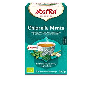 Drink MINTY CHLORELLA Yogi Tea