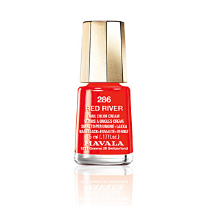 NAIL COLOR #286-red river