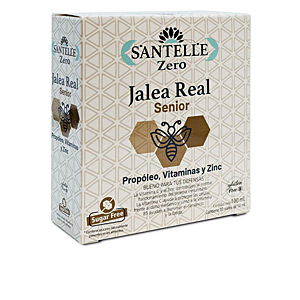 Getränk ZERO jalea real senior con propóleo, vitaminas y zinc viales Santelle