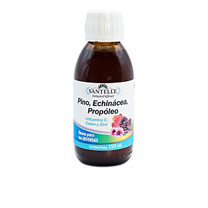 Vitamins INMUNODEFENCE pino, echinácea, propóleo + vitamina C, cobre Santelle