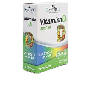 Vitamins INMUNODEFENCE vitamina D3 cápsulas Santelle