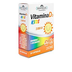 Vitamins INMUNODEFENCE vitamina D3 kids cápsulas vegetales Santelle