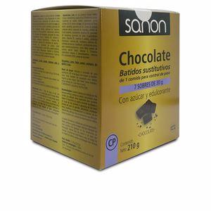 Mass gainer SANON batido sustitutivo sabor chocolate sobres Sanon