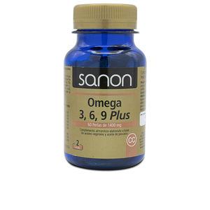 Omegas and fatty acids SANON Omega 3,6,9 plus perlas Sanon