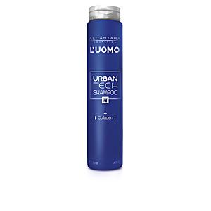 Feuchtigkeitsspendendes Shampoo - Bartpflege L´UOMO URBANTECH shampoo Alcantara