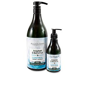 Anti-dandruff shampoo TRAYBELL ESSENTIA champu control Alcantara