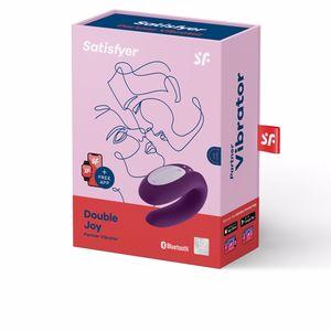 Dispositivo íntimo - Juguete erótico SATISFYER double joy #morado Satisfyer