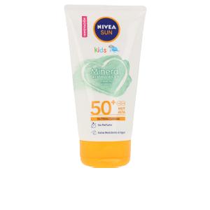 Facial SUN NIÑOS MINERAL crema protección solar SPF50+ Nivea