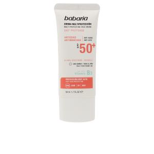 Facial SOLAR MULTIPROTECCION crema antimanchas SPF50+ Babaria