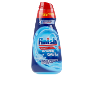 Dishwasher detergent FINISH POWER GEL ALL IN 1 brillo y protección Finish