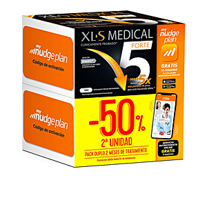 Bloqueador de grasas XLS MEDICAL FORTE 5x NUDGE LOTE