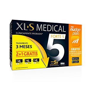 Bloqueador de gordura XLS MEDICAL FORTE 5x NUDGE LOTE