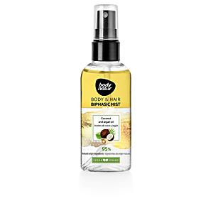 Tratamiento hidratante pelo - Hidratante corporal BODY & HAIR biphasic mist aceite de coco y argán Body Natur