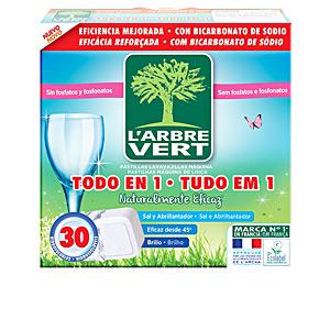 """Dishwasher detergent L´ARBRE VERT lavavajillas máquina """"todo en 1"""" pastillas L'Arbre Vert"""