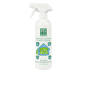 Cleaning and disinfection ELIMINADOR enzimático de orines y manchas mascotas Men For San