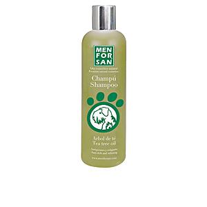 Shampoing pour animaux CHAMPÚ PERRO con árbol de té antipicores y relajante Men For San