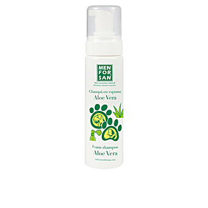 Pet Shampoo CHAMPÚ PERROS Y GATOS en espuma con aloe vera Men For San