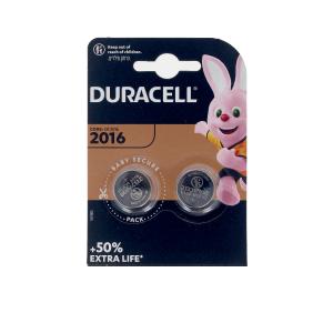 Batterien DURACELL BOTON LITIO 3V 2016 DL/CR2016 pilas pack Duracell