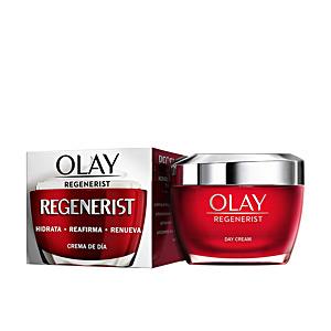 Anti aging cream & anti wrinkle treatment - Skin tightening & firming cream  - Face moisturizer REGENERIST 3 AREAS crema anti-edad intensiva Olay