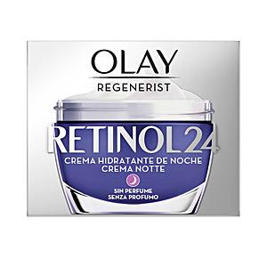 Face moisturizer - Anti aging cream & anti wrinkle treatment REGENERIST RETINOL24 crema hidratante noche Olay
