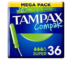 Tampons TAMPAX COMPAK tampón super Tampax