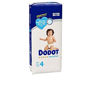 Higiene Niños - Pañales DODOT SENSITIVE T4 pañales 9-14 kg