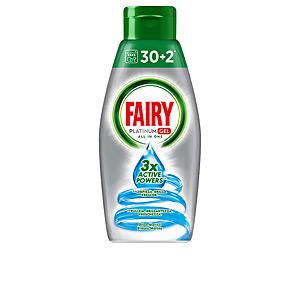 Dishwasher detergent FAIRY PLATINUM gel máquina oceano Fairy
