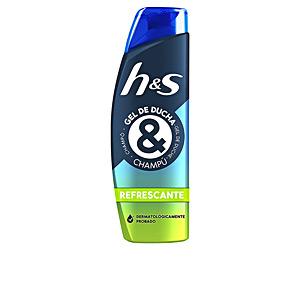 Champú purificante H&S GEL DUCHA & CHAMPÚ refrescante Head & Shoulders