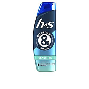 Champú purificante - Champú anticaspa H&S GEL DUCHA & CHAMPÚ sensitive Head & Shoulders