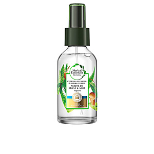 Tratamiento brillo - Tratamiento hidratante pelo BOTANICALS ALOE & ARGÁN aceite reparador capilar Herbal Essences